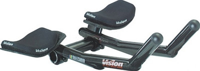 VisionTech Carbon Pro Clip-on Bars 26.0 x 230mm Carbon
