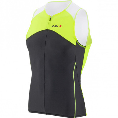 Louis Garneau Men's Comp Sleeveless Tri Top - 2017
