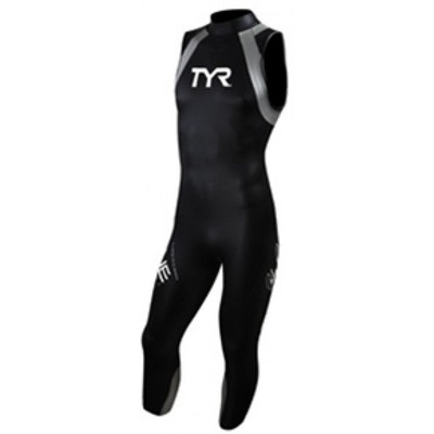 REPAIRED: TYR Men's Hurricane Category 1 Sleeveless Wetsuit  - Size S