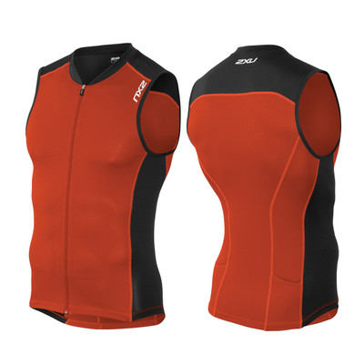 2XU Men's Active Multi-Sport Tri Singlet