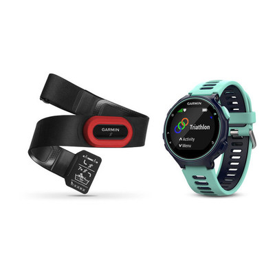 Garmin Forerunner 735XT GPS Multisport Watch Run Bundle - 2017
