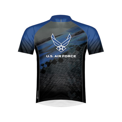 Primal Wear Men's US Air Force Flight Cycling Jersey