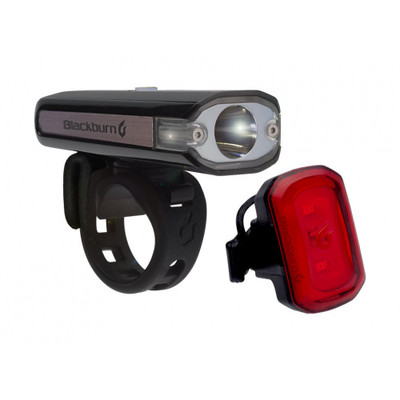 Blackburn Central 200 Front + Click USB Rear Light Set - 2017