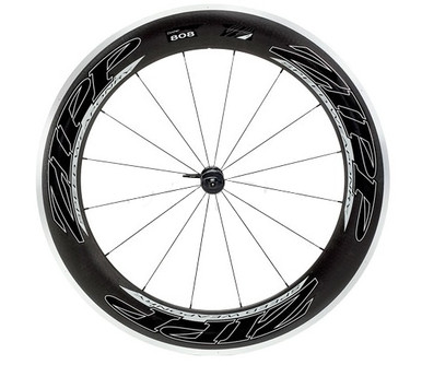 Zipp 808 Torodial Alloy/Carbon Clincher Front Wheel Black