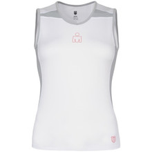 K-Swiss Women's Ironman Spliced Sleeveless Top