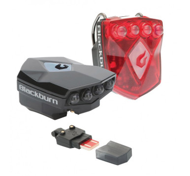 Blackburn FLEA 2.0 Combo Front + Rear USB Rechargeable Lights