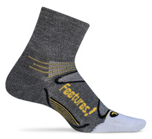 Feetures! Elite Merino + Ultra Light Quarter Sock - 2016