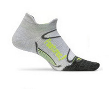 Feetures! Elite Merino + Ultra Light No Show Sock With Tab