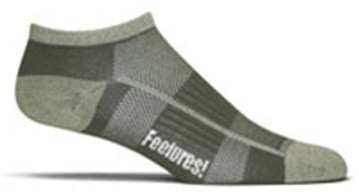 Feetures! Bamboo and Wool Ultra Light Cushion Low Cut Sock