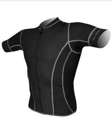 DeSoto Men's Forza Riviera Tri Jersey with Short Sleeves