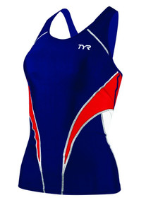TYR Womens Competitor Fitted Tri Tankini - Only Size M Left!