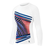 TYR Women's American Ace Rash Guard - Only Size S Left!