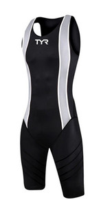 TYR Mens Zipper Back Short John