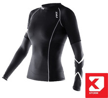2XU Women's Xform Elite Long Sleeve Compression Top - 2015