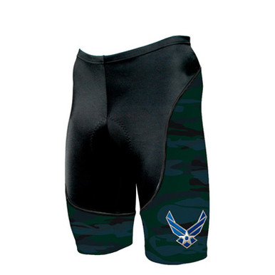 Primal Wear Men's U.S. Air Force Engage Bike Short