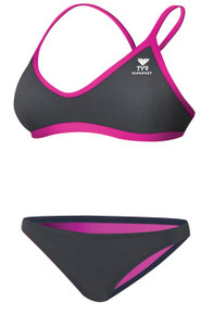 TYR Women's Solid Brites Crossfit Workout Bikini - 2014