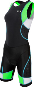 TYR Women's Competitor Trisuit with Back Zipper - 2015