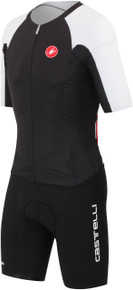 Castelli Men's Body Paint SR Short Sleeve Tri Suit