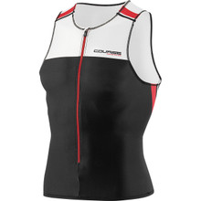 Louis Garneau Men's Elite Course Sleeveless Tri Top - 2015