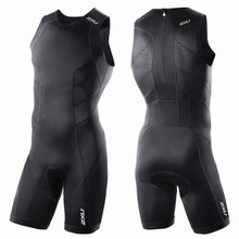 2XU Men's Perform Tri Suit With Rear Zip - 2014
