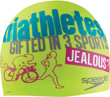 Speedo Triathlon Jealous Silicone Swim Cap