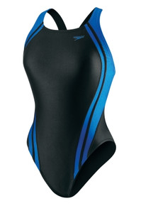 Speedo Women's Quantum Splice Super Pro Back- Powerflex Swimsuit- 2014