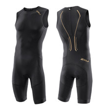 2XU Men's Elite X Short Course Tri Suit - 2015