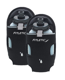 Fitletic Hydration Add-Ons - 2 8 oz. Bottles with Holsters