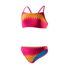 Speedo Women's Flipturns Geo Genie 2 PC Workout Bikini