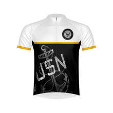 Primal Wear Men's US Navy Anchor Cycling Jersey