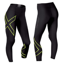 2XU Women's High-Vis Mid-Rise Compression Tights