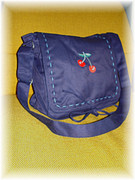 Cherry Messenger Bag