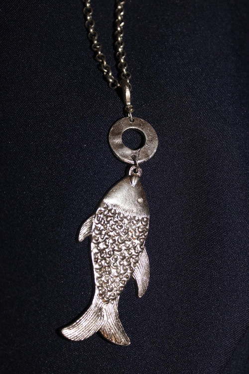 Long Fish Necklace