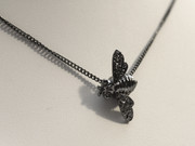 Black Bee Necklace