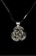 Dazzling Rhinestone Rose Necklaces