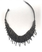 Cluster of Spikes Necklace