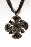 Lady Gertrude Medallion Necklace