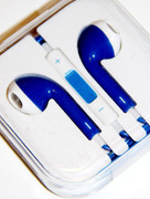 Dark Blue Headphones