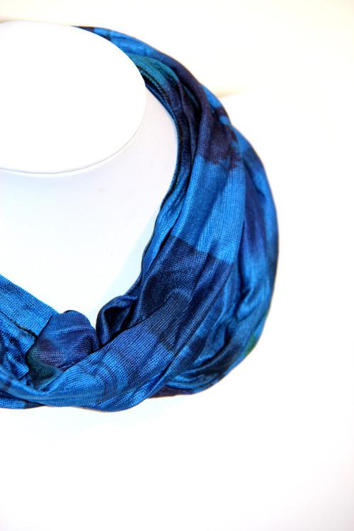 Blue Wave Yoga Head Wrap