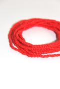 Red Beaded Multi-Row Bracelet