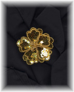 Sequined Flower Pin/Brooch