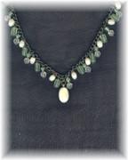 Bohemian Green Necklace