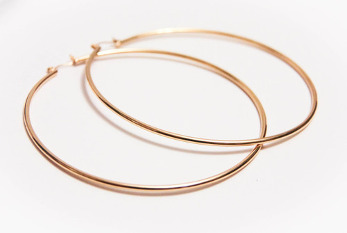Oversize Extra Large Hoop Earrings