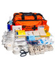 Ultimate Sports First Aid Kit   In Orange Nylon Holdall   Physical Sports First Aid