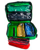 Reliance Paris First Aid Bag   Showing Removeable Pouches   Physical Sports First Aid