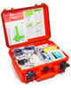 Protected First Aid Kit | Showing Contents in Open Box | Physical Sports First Aid