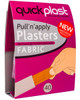 Quickplast Pull n Apply Plasters | Fabric 40 Pack | Physical Sports First Aid