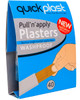 Quickplast Pull n Apply Plasters | Washproof 40 Pack | Physical Sports First Aid