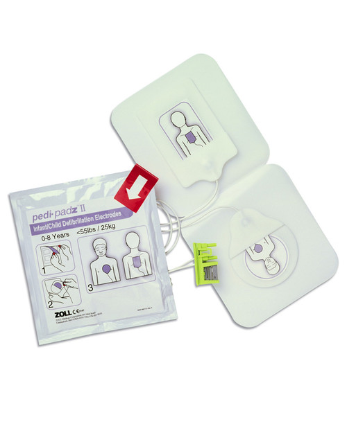 ZOLL Pedi-Padz II | Paediatric Electrodes for ZOLL AED Plus | Physical Sports First Aid