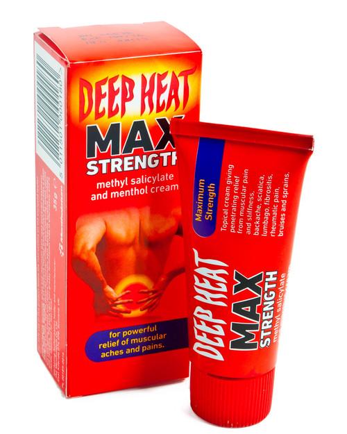 Deep Heat Max Strength 35g   Physical Sports First Aid